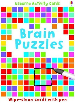 Book Brain Puzzles (Activity Cards) by Sarah Khan