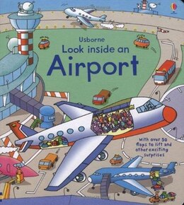 Book Look Inside An Airport by Jones Lloyd
