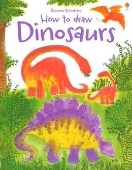 Book Dinosaurs (How To Draw) by Fiona Watt