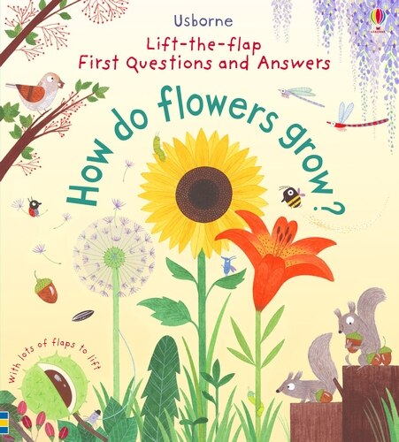 First Lift-the-flap Q&a How Do Flowers Grow? by Katie Daynes