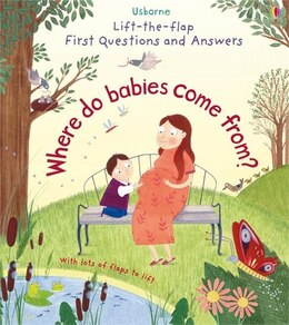 Book Lift-the-flap First Questions And Answers/where Do Babies Come From? by Katie Daynes
