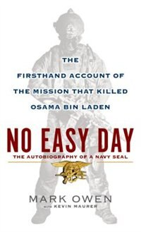 Book No Easy Day: Large Print Edition by Mark Owen