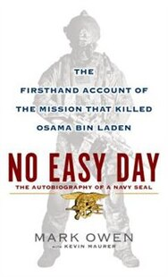 No Easy Day: Large Print Edition