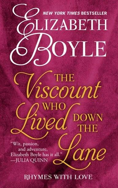 The Viscount Who Lived Down The Lane: (Large  Print) de Elizabeth Boyle
