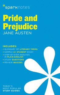 Pride And Prejudice Sparknotes Literature Guide