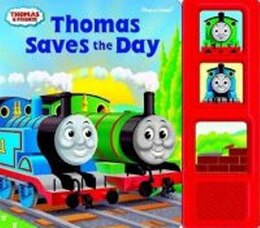 Book Thomas Saves The Day Sound Bk & Cuddly by The Tank Engi Thomas