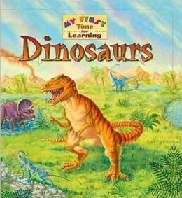 Book My 1st Time Learning Dinosaurs by PUBLICATIONS INTERNATIONAL LTD