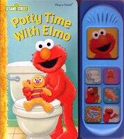 Elmos Potty Bk Little Sound Bk