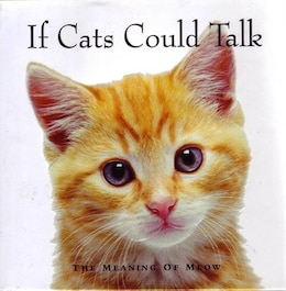 Book If Cats Could Talk by Na