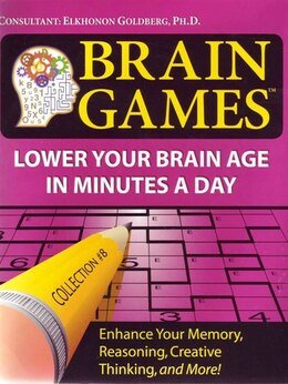 Book Brain Games 8 by Publications International