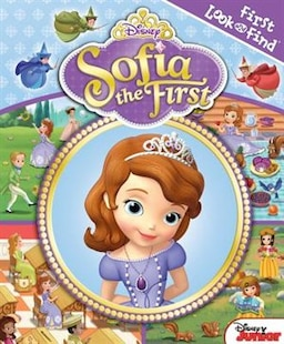 My First Look And Find Sofia The First