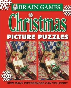 BRAIN GAMES PICTURE PUZZLES XMAS