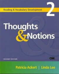 Thoughts & Notions: Reading And Vocabulary Development 2