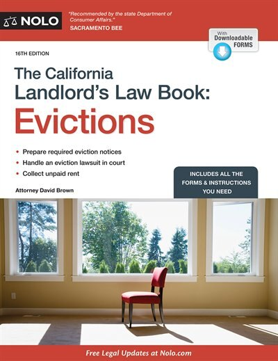 California Landlord's Law Book, The: Evictions: Evictions by David Brown