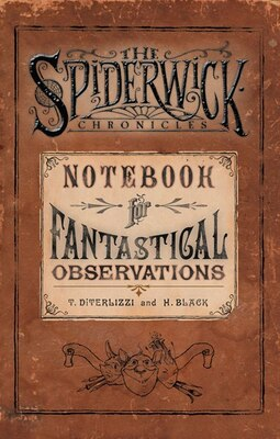 Book Notebook for Fantastical Observations by Holly Black