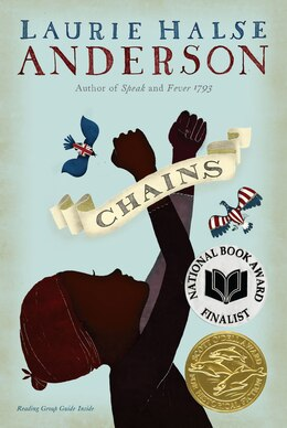 Book Chains by Laurie Halse Anderson