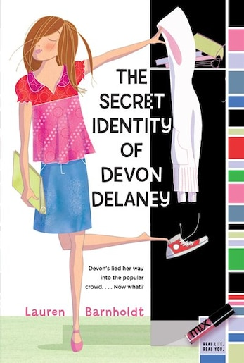 The Secret Identity of Devon Delaney by Lauren Barnholdt