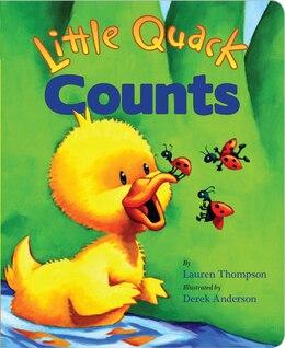 Book Little Quack Counts by Lauren Thompson