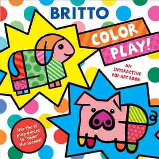 Color Play!: An Interactive Pop Art Book by Romero Britto