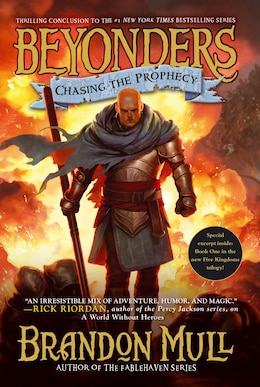 Book Chasing the Prophecy by Brandon Mull