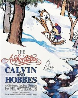 Book The Authoritative Calvin And Hobbes by Bill Watterson