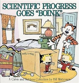 Book Scientific Progress Goes 'boink': A Calvin And Hobbes Collection by Bill Watterson