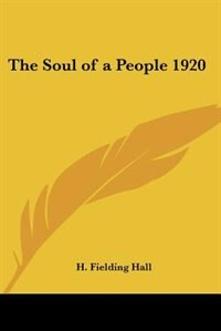 The Soul of a People 1920 by Alexander V. G. Allen