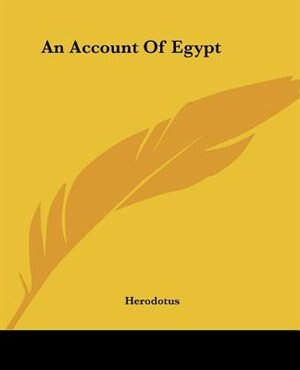 An Account of Egypt by Tad Houlihan
