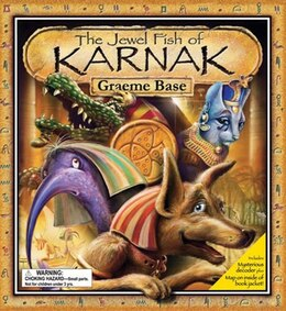 Book The Jewel Fish of Karnak by Graeme Base