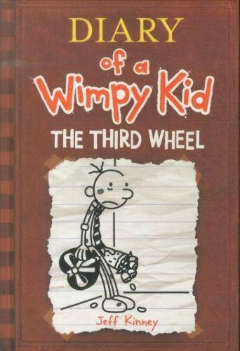 The third wheel diary of a wimpy kid 7 the third wheel book by the third wheel diary of a wimpy kid 7 the third wheel solutioingenieria Image collections