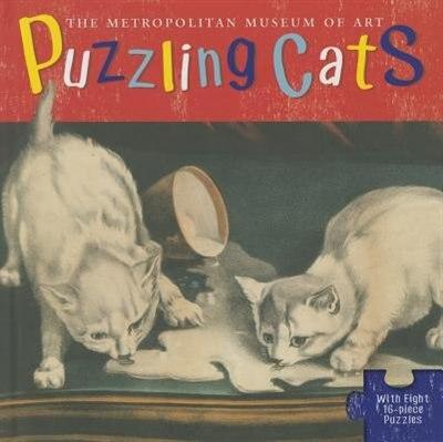 Puzzling Cats by Linda Falken