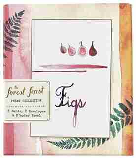 The Forest Feast Print Collection: 8 Cards, 8 Envelopes, And A Display Easel by Erin Gleeson