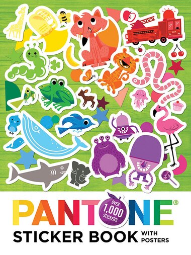 Pantone: Sticker Book With Posters by Pantone