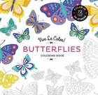 Vive Le Color! Butterflies (adult Coloring Book): Color In; De-stress (72 Tear-out Pages)