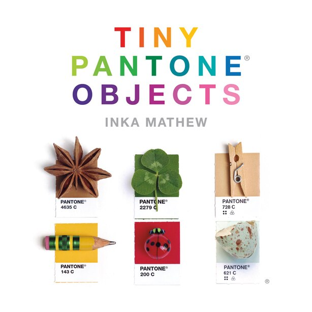 Tiny Pantone Objects by Inka Mathew