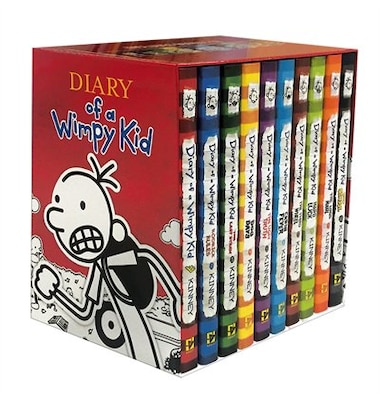 Diary of a wimpy kid box of books books 1 10 book by jeff kinney diary of a wimpy kid box of books books 1 10 by jeff solutioingenieria Image collections