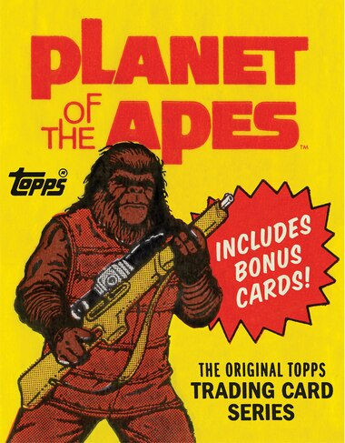 Planet Of The Apes: The Original Topps Trading Card Series by Gary Gerani