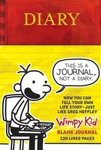 Diary of a wimpy kid blank journal book by jeff kinney hardcover diary of a wimpy kid blank journal by jeff kinney solutioingenieria Gallery