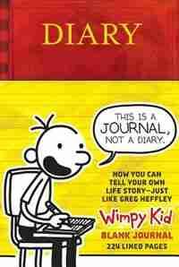 Diary Of A Wimpy Kid Blank Journal by Jeff Kinney