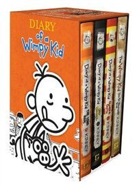 Diary Of A Wimpy Kid Box Of Books (9-11 Plus Diy) by Jeff Kinney