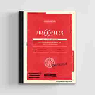 The X-files: The Official Archives: Cryptids, Biological Anomalies, And Parapsychic Phenomena by Paul Terry