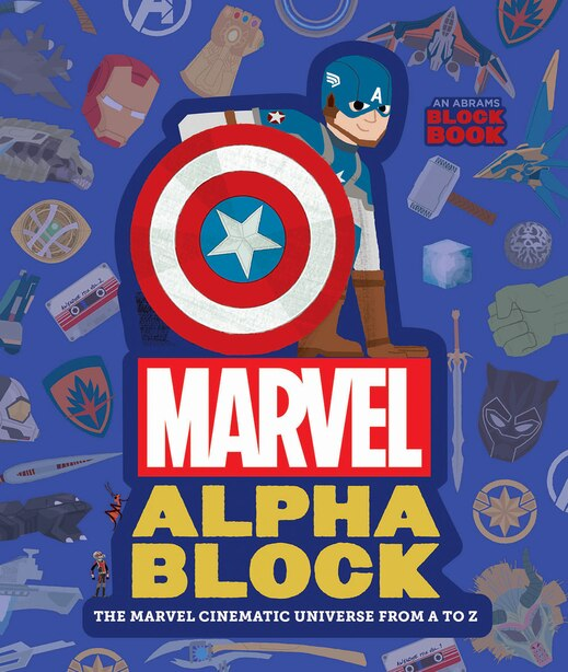 Marvel Alphablock: The Marvel Cinematic Universe From A To Z by Peskimo