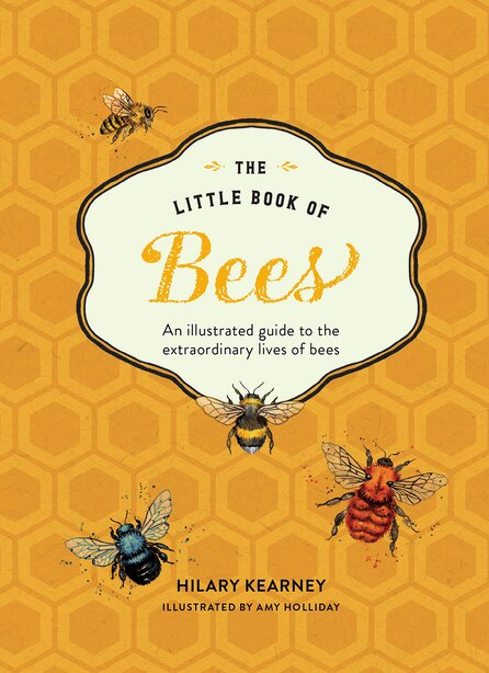 The Little Book Of Bees: An Illustrated Guide To The Extraordinary Lives Of Bees by Hilary Kearney