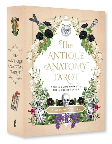 The Antique Anatomy Tarot Kit: Deck And Guidebook For The Modern Reader by Claire Goodchild