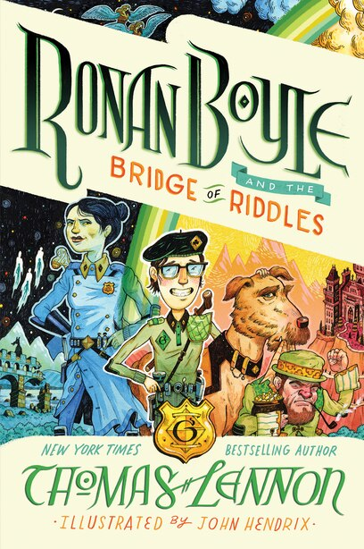 Ronan Boyle And The Bridge Of Riddles (ronan Boyle #1) by Thomas Lennon