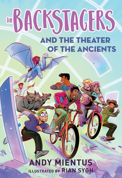 The Backstagers And The Theater Of The Ancients (backstagers #2) by Andy Mientus