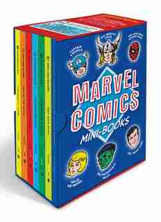 Marvel Comics Mini-books Collectible Boxed Set: A History And Facsimiles Of Marvel's Smallest Comic Books by Marvel Entertainment