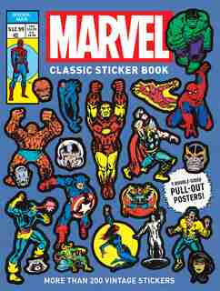 Marvel Classic Sticker Book by Marvel Entertainment