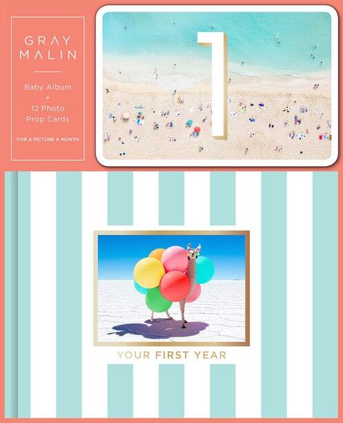Gray Malin: Baby Album And 12 Photo Prop Cards (boxed Set) by Gray Malin