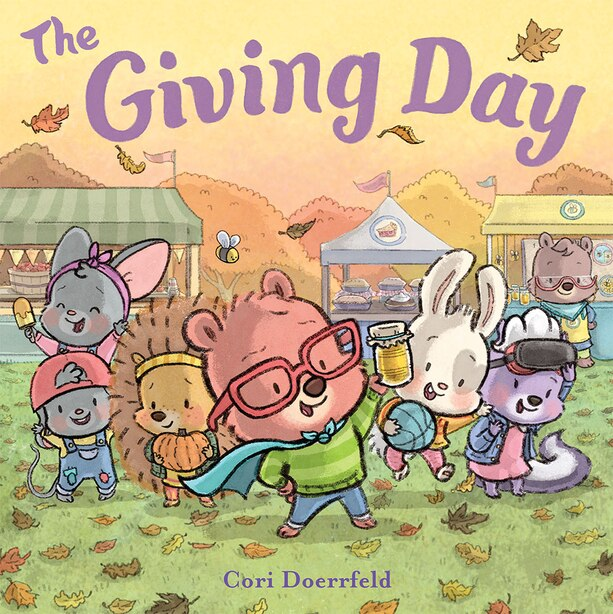 The Giving Day: A Cubby Hill Tale by Cori Doerrfeld